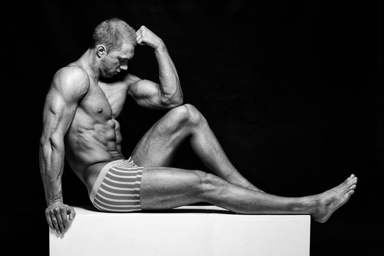 Bodybuilder Tim Stolk
