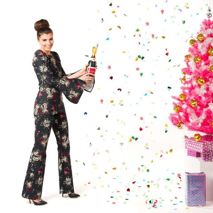 Kerst fashion fotoshoot