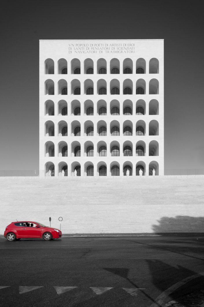 Colosseo Quadrato, Rome, Italië