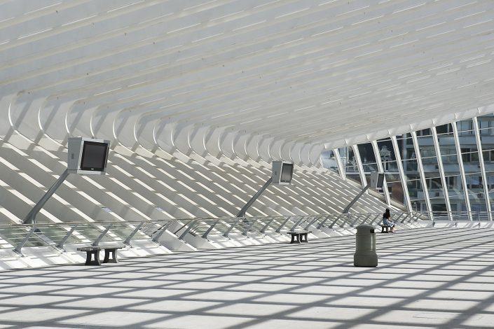 TGV-station Guillemins, Lille, België