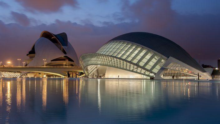 Santiago Calatrava, Valencia, Spanje