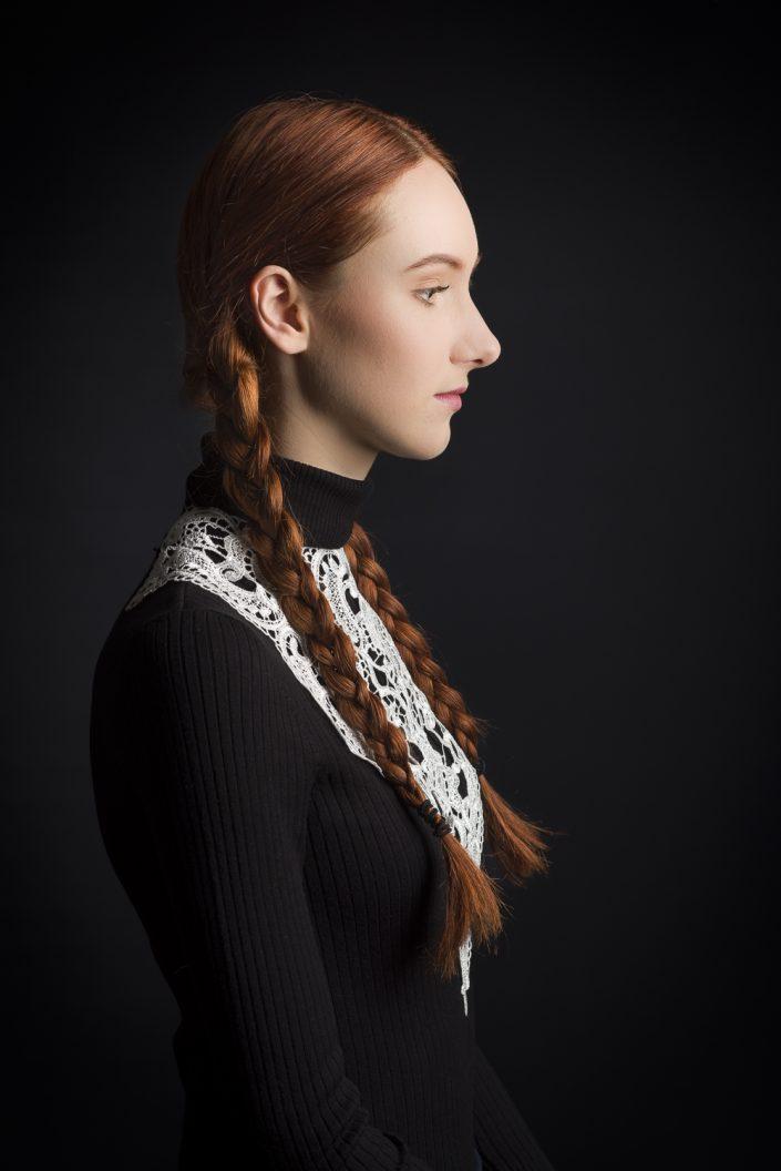 Model: Claudia W; MUA(H): Luna van Herwijnen